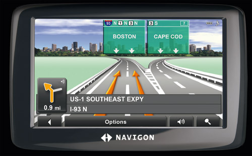 Navigon GPS Apps cum device Inviul