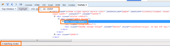 Dynamic CSS Selector class name