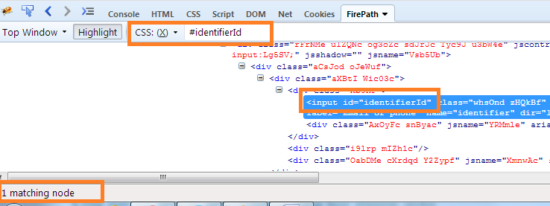 Dynamic CSS Selector id1