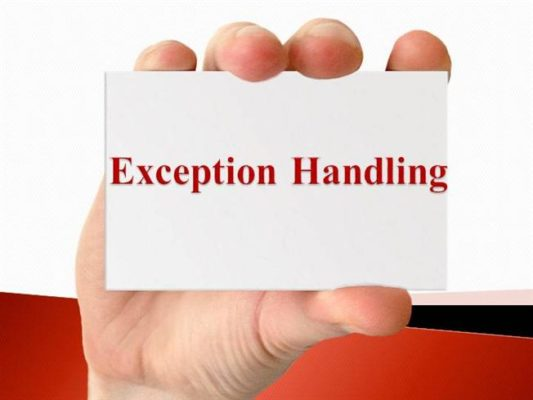 handle exception in Selenium with java