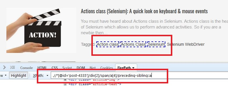 Advanced Dynamic XPath In Selenium To Reduce Failure Rate