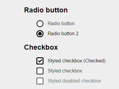 checkbox and radio button in Selenium