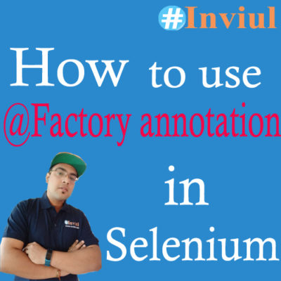 @Factory annotation banner