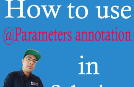 @Parameters annotation: How to inject test data from testng.xml?
