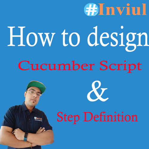 Cucumber script step definition inviul