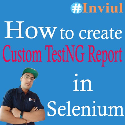 Custom TestNG Report Banner