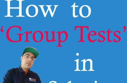 How to group tests in Selenium using TestNG?