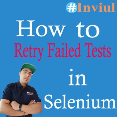 Retry failed test cases banner