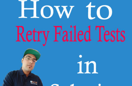 How to Retry Failed Test Cases in Selenium using TestNG?