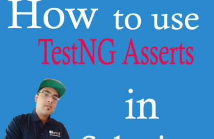 TestNG Asserts- How to perform verification in Selenium?