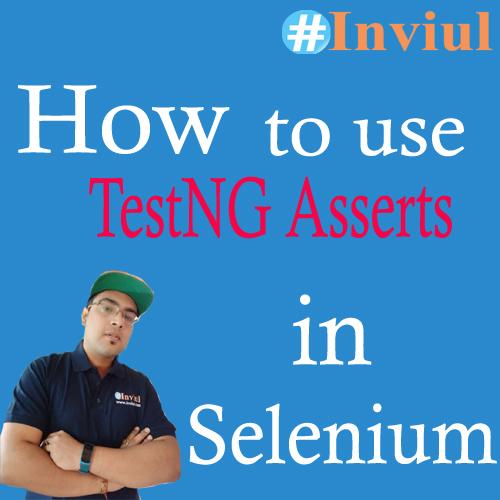 TestNG Asserts Banner