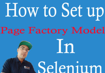 Page Factory Model for Effective POM in Selenium