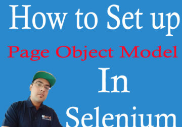 Page Object Model Inviul