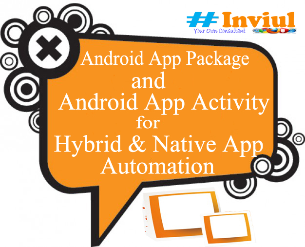How To Get Android App Package And App Activity For Appium
